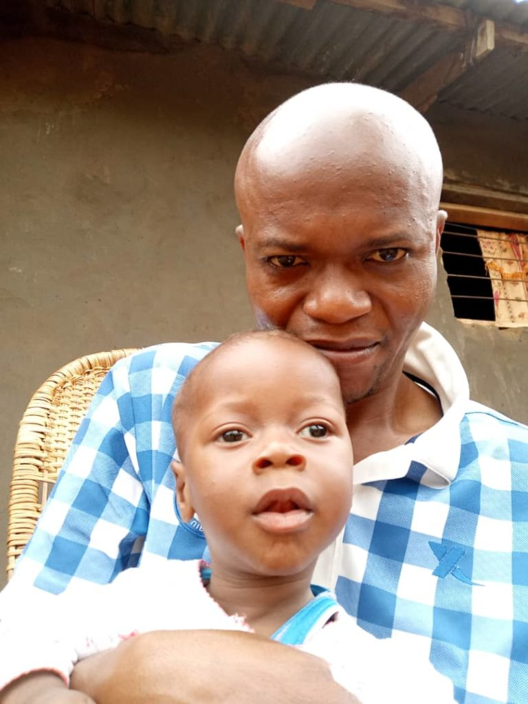 David enfant malade de la République Démocratique du Congo