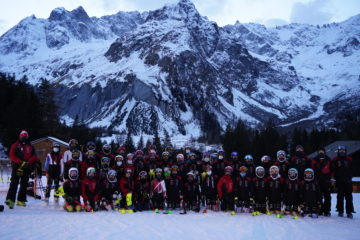Verbier Saint Bernard ski Team